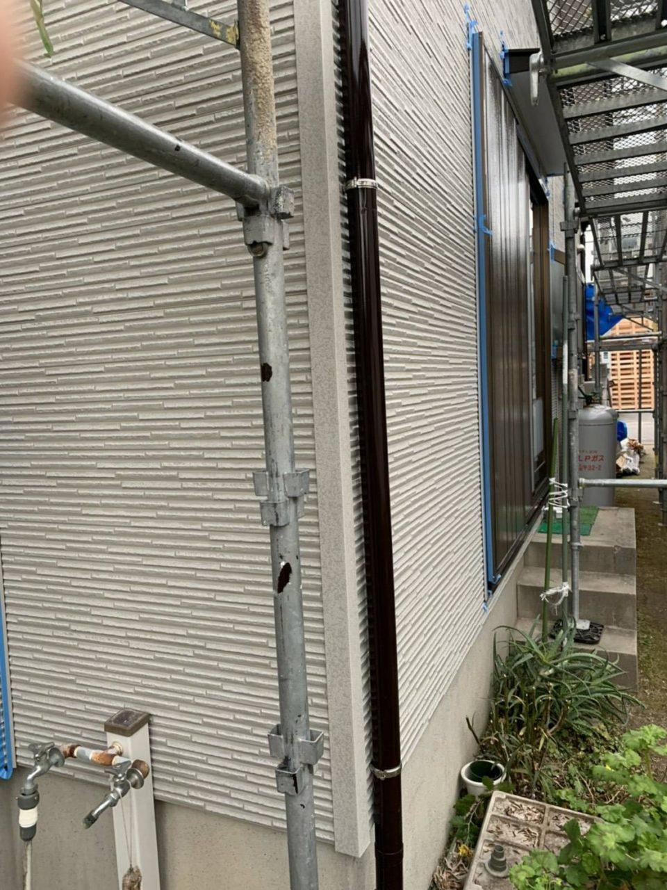 岡崎市K地区サイディング張り替え進行状況3