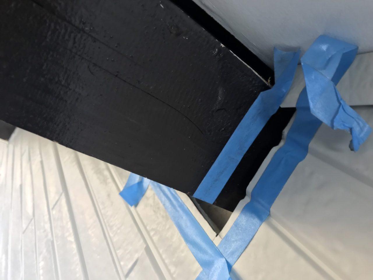 西尾市サイディング張り替え雨樋取り付け工事防水工事4