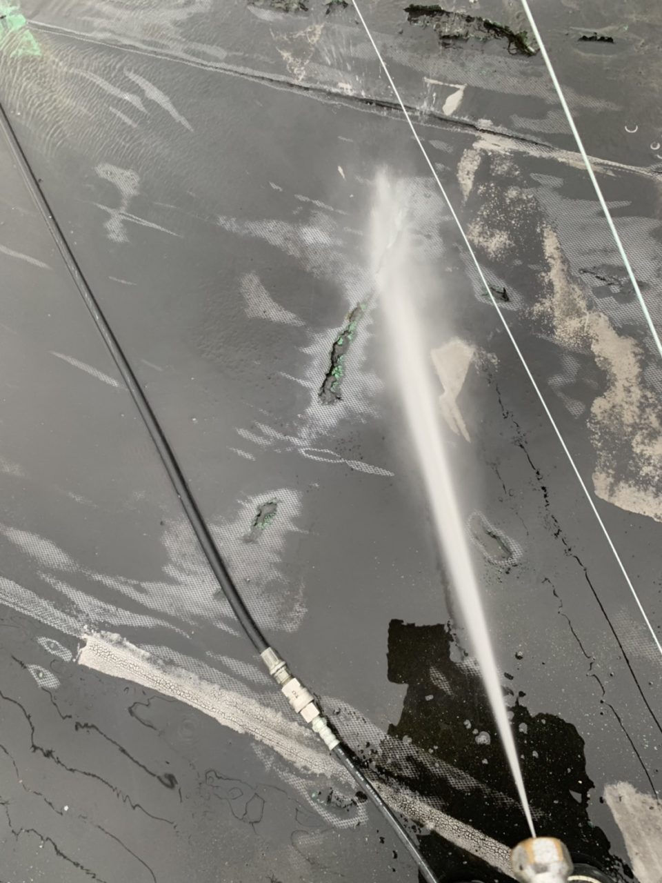 安城市防水工事 水洗い3