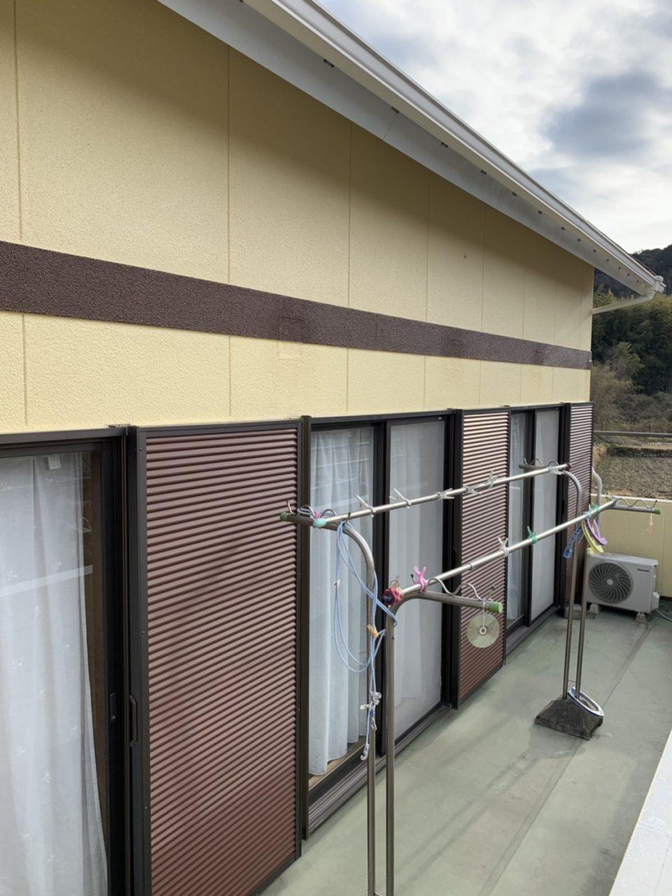 春日井市高蔵寺H邸塗装工事完了1