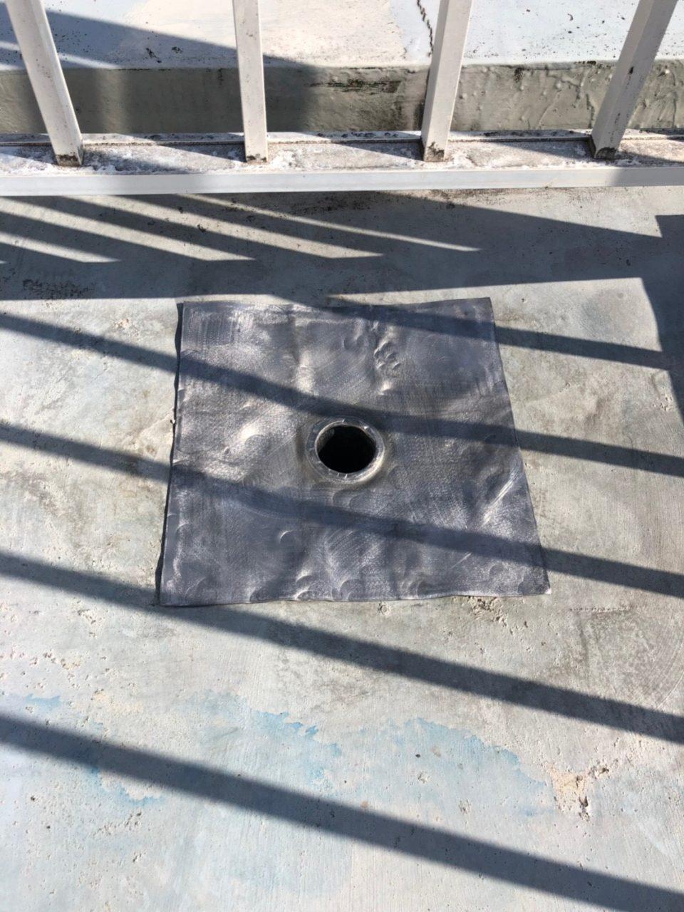 安城市防水工事 プライマー ウレタン一回塗り3