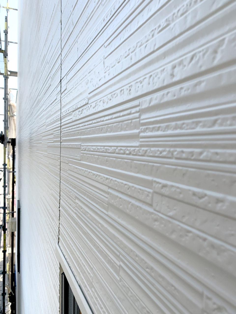 岡崎市サイディング貼り屋上ウレタン防水工事2