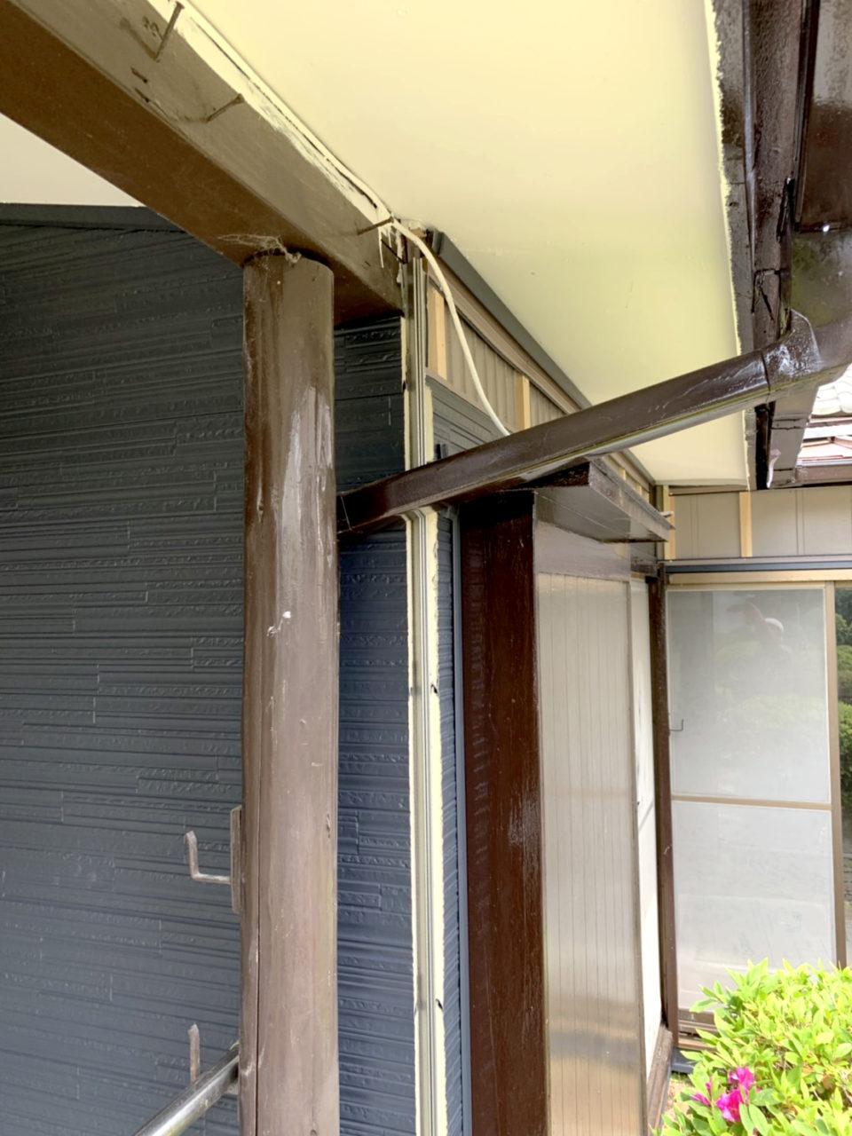安城市サイディング工事役物取り付け工事2
