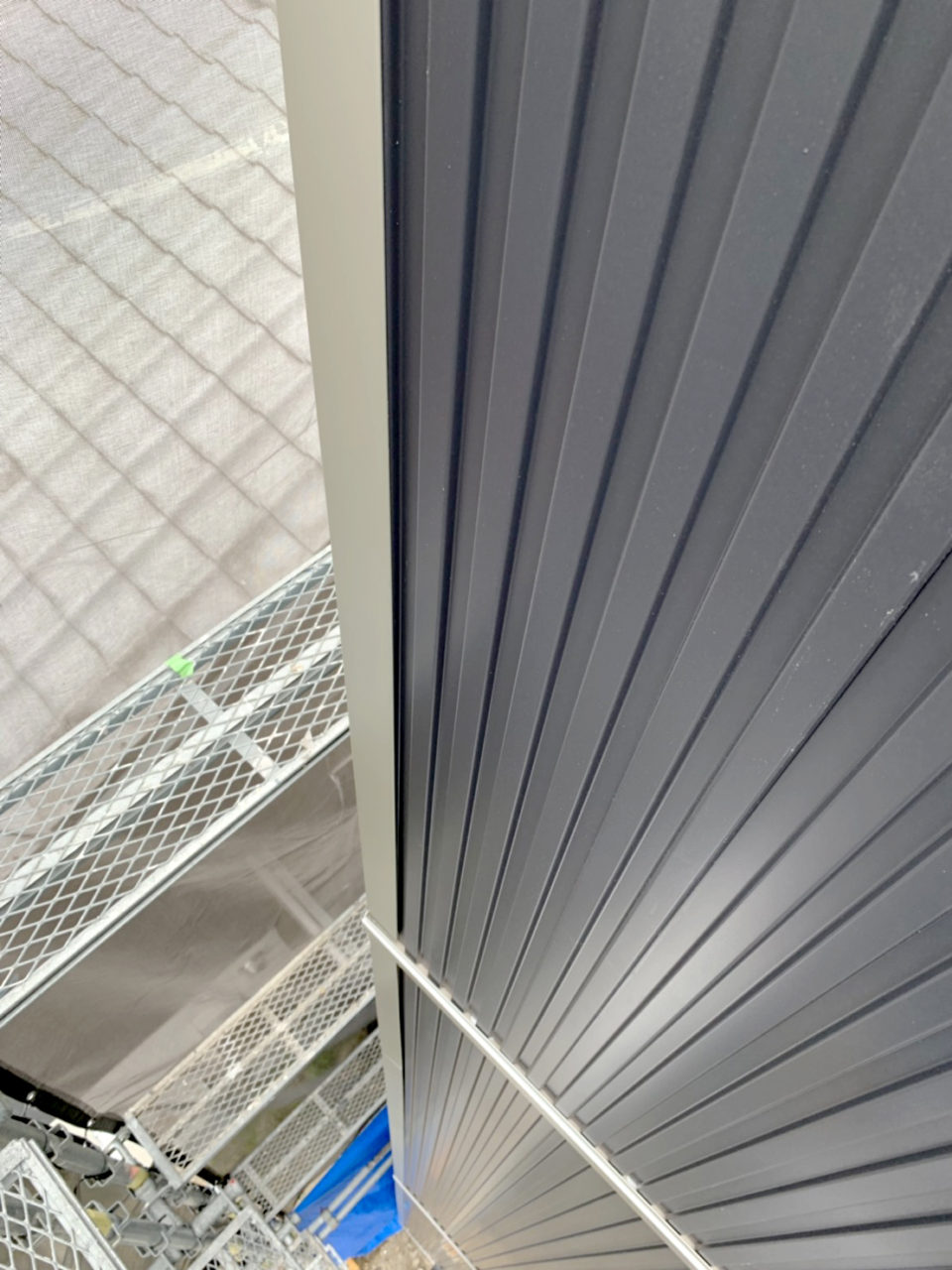 守山区サイディング張り工事5
