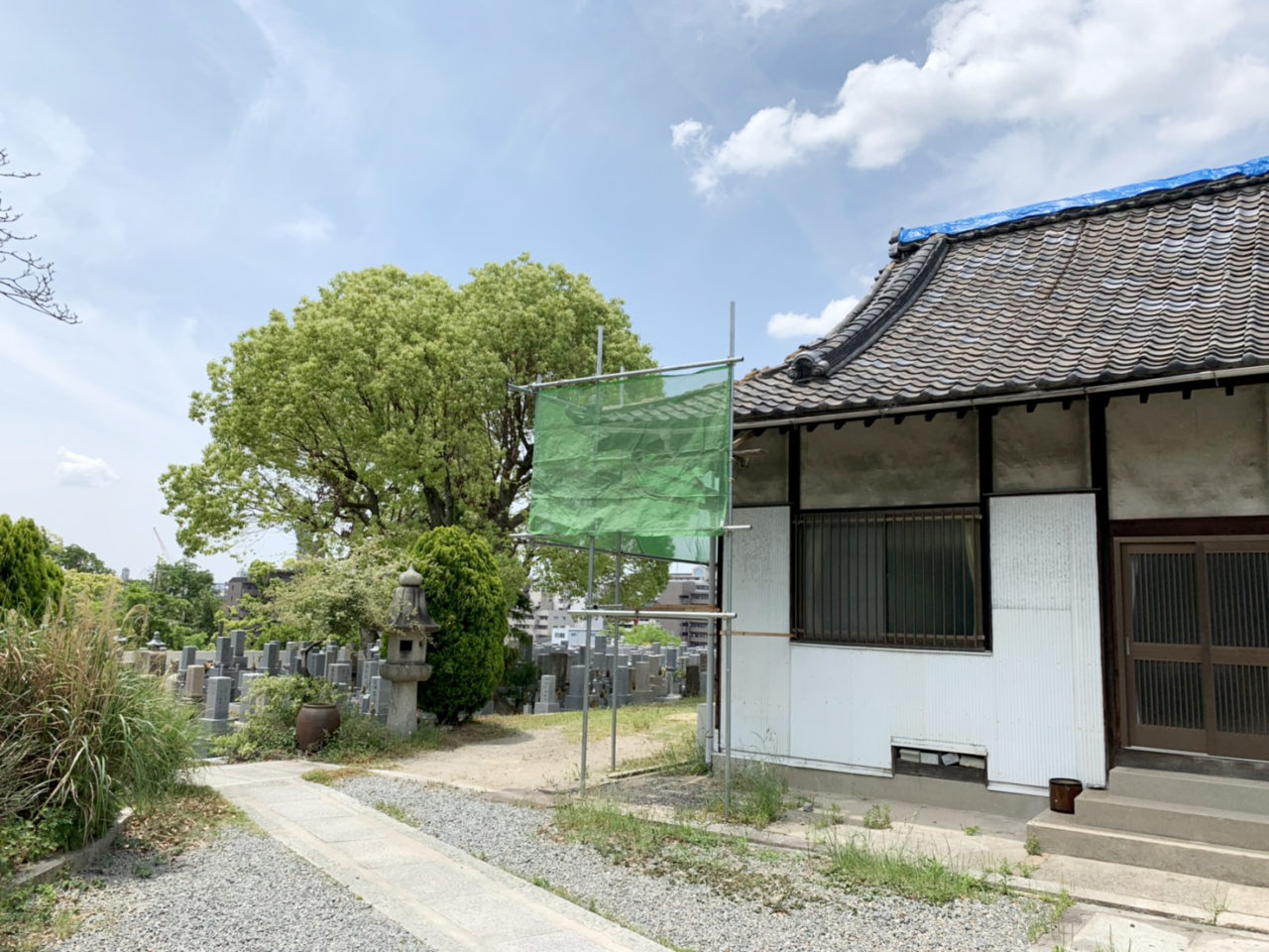 大阪 お寺補修工事
