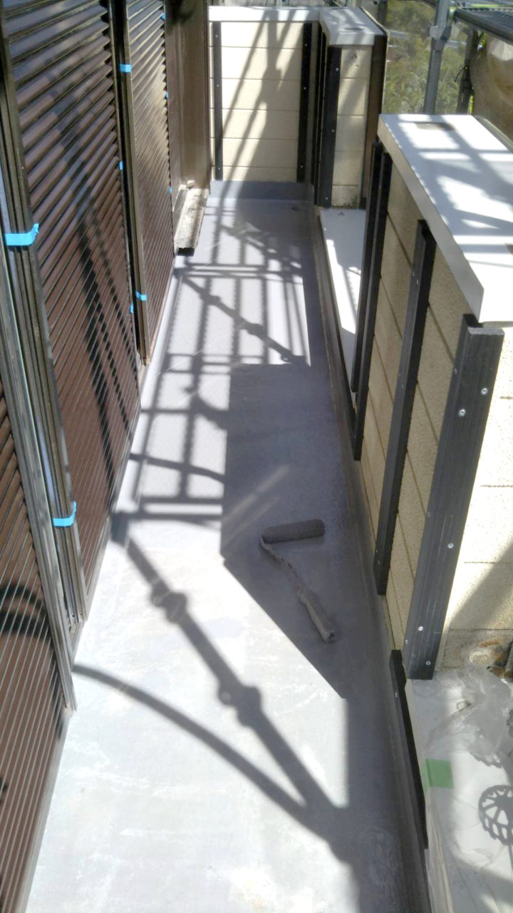 多治見市サイディング工事 ベランダFRP防水7