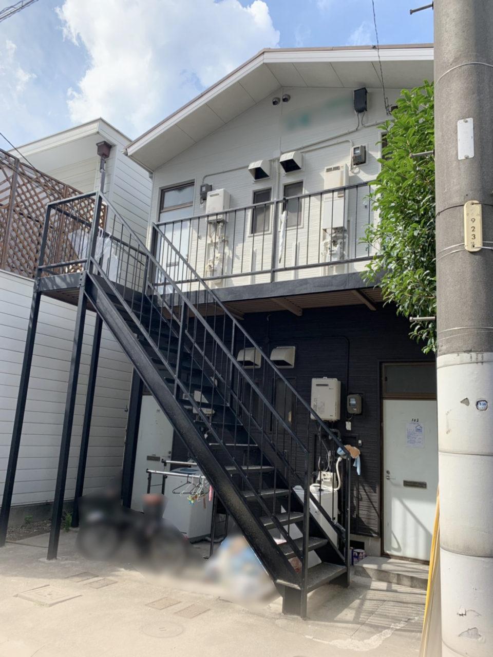 中村区サイディング張り替え工事完1