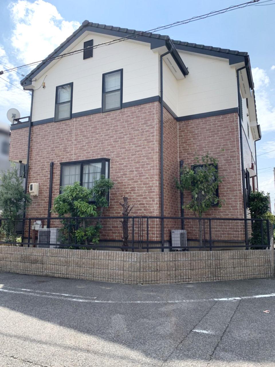 春日井市M様邸塗装工事完了1