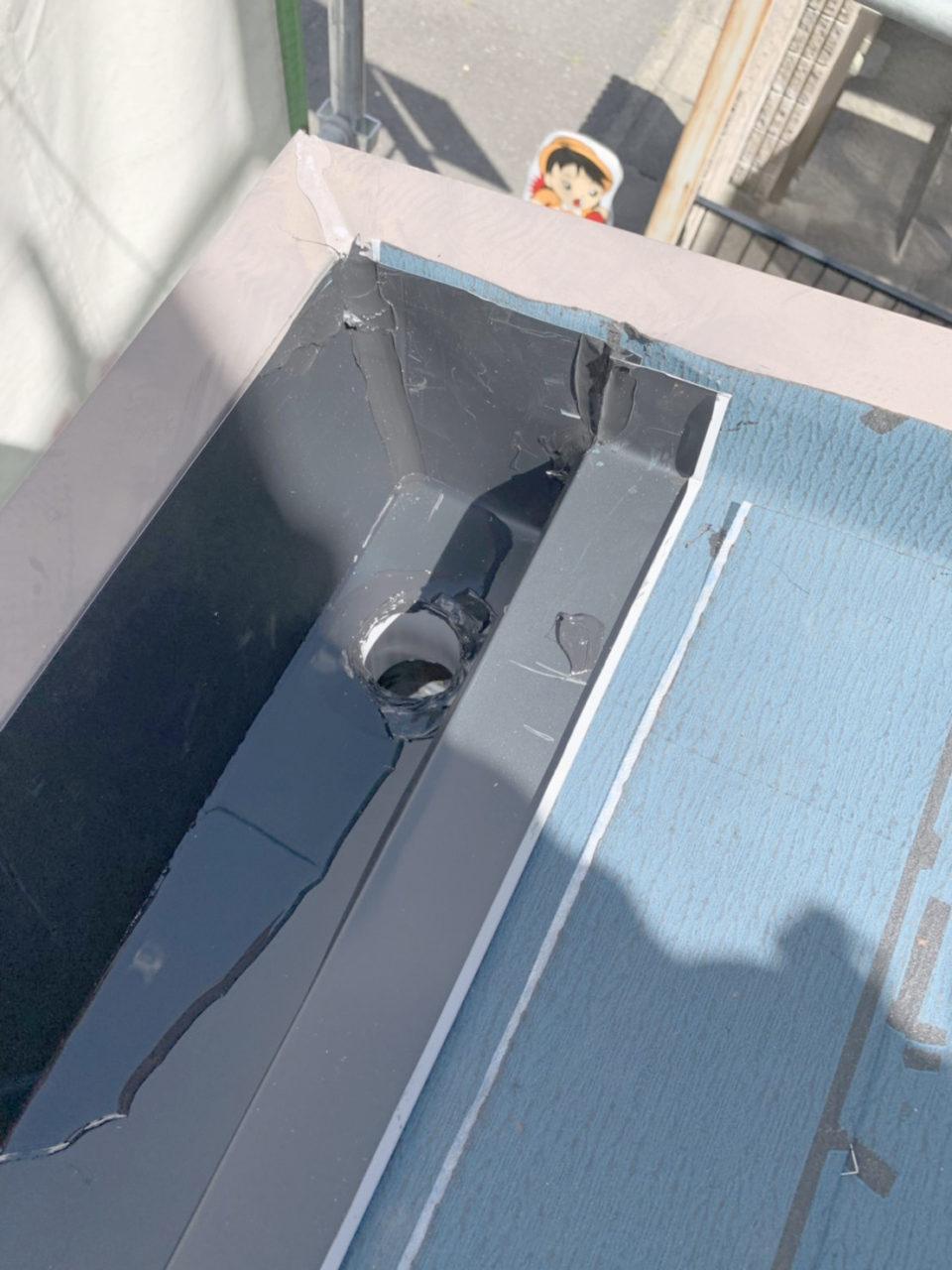 清洲市サイディング工事 瓦棒葺き替え1