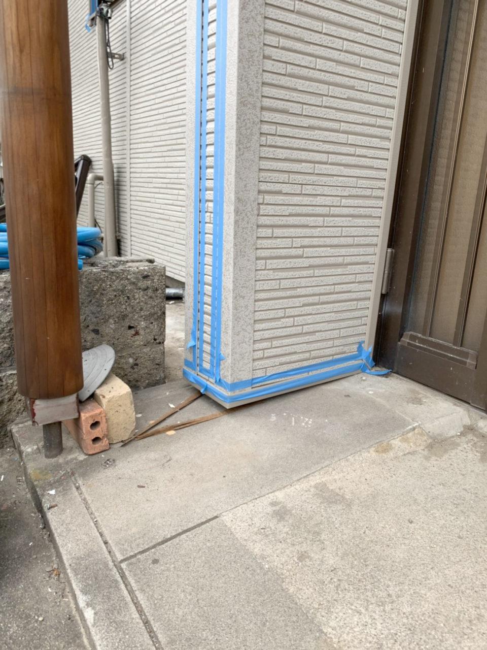 清洲市サイディング張り替え工事コーキング仕上げ