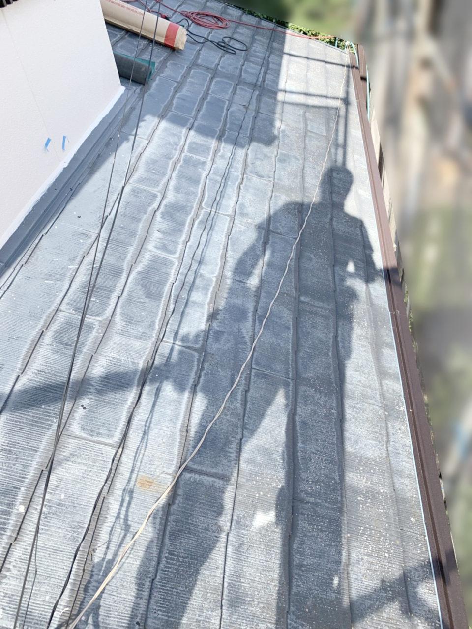 瀬戸市M様邸ガルテクト屋根葺き施工前