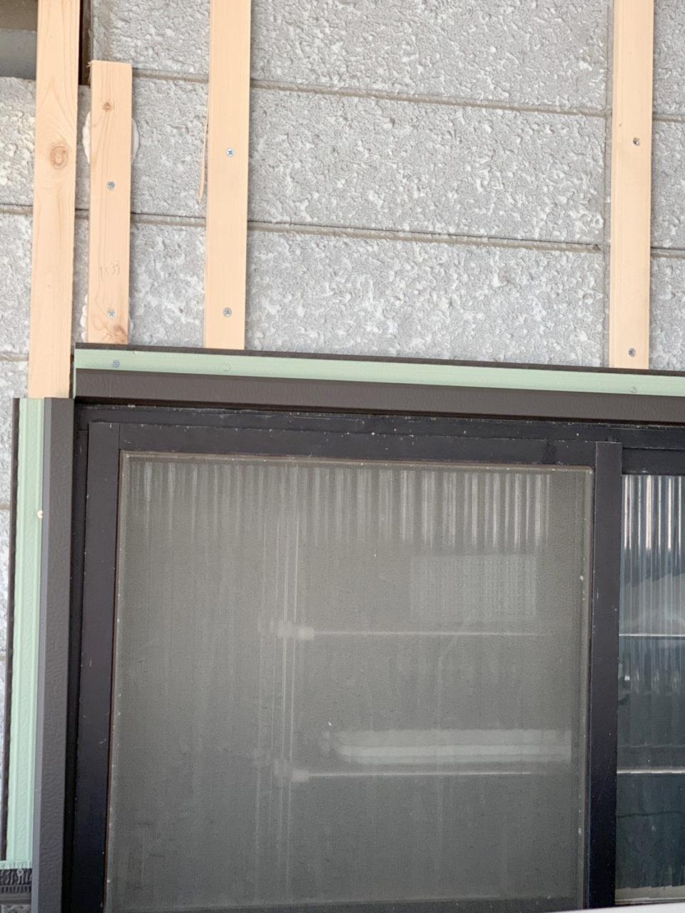 窓周り他役物取り付け工事1