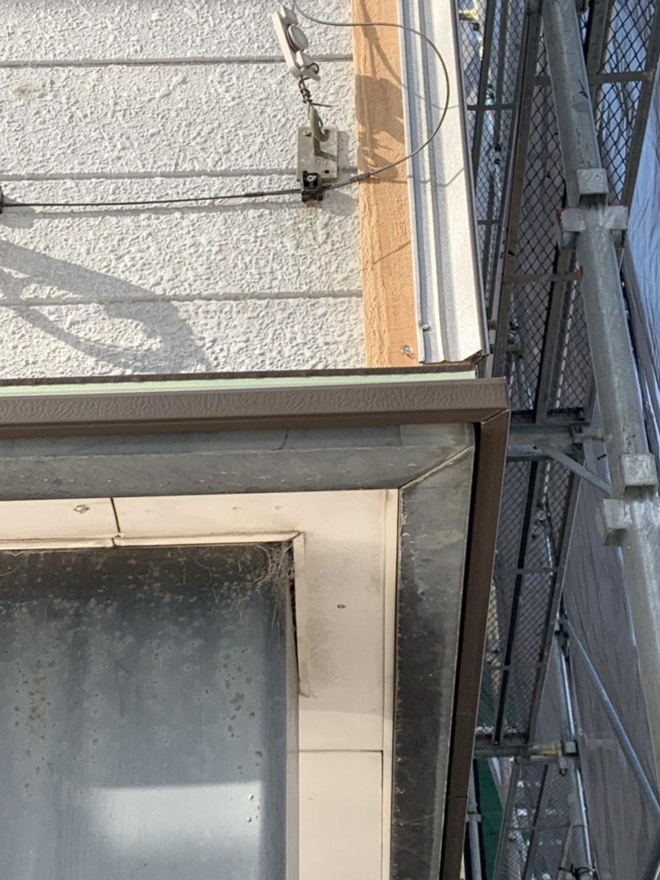 窓周り他役物取り付け工事2
