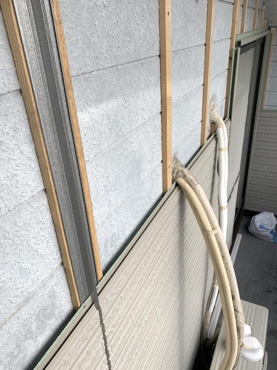 N地邸宅サイディング張り替え工事2