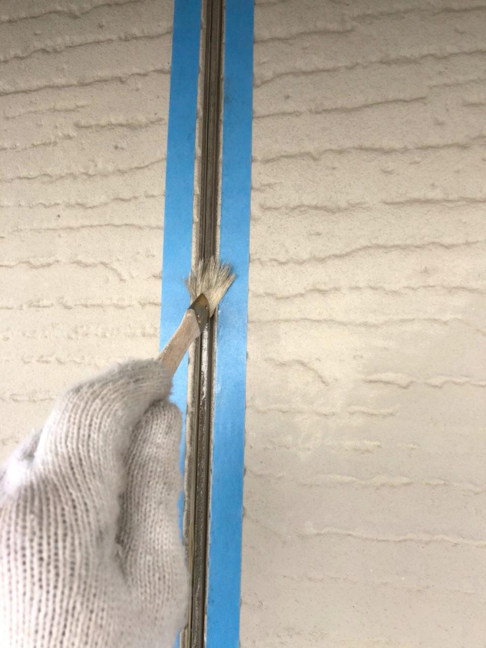 南区K様邸塗装工事劣化コーキング外し2