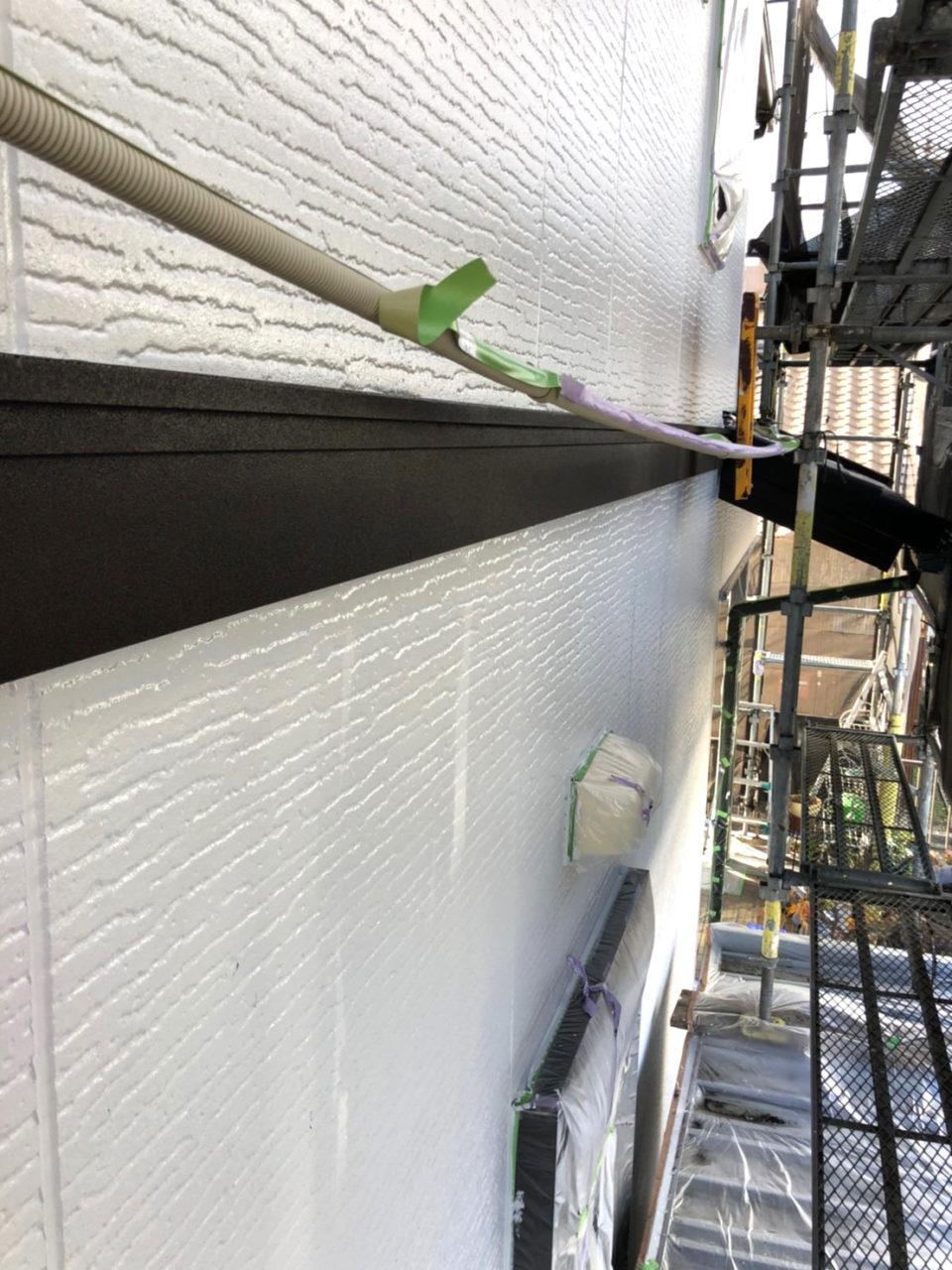 南区K様邸付帯塗装工事2