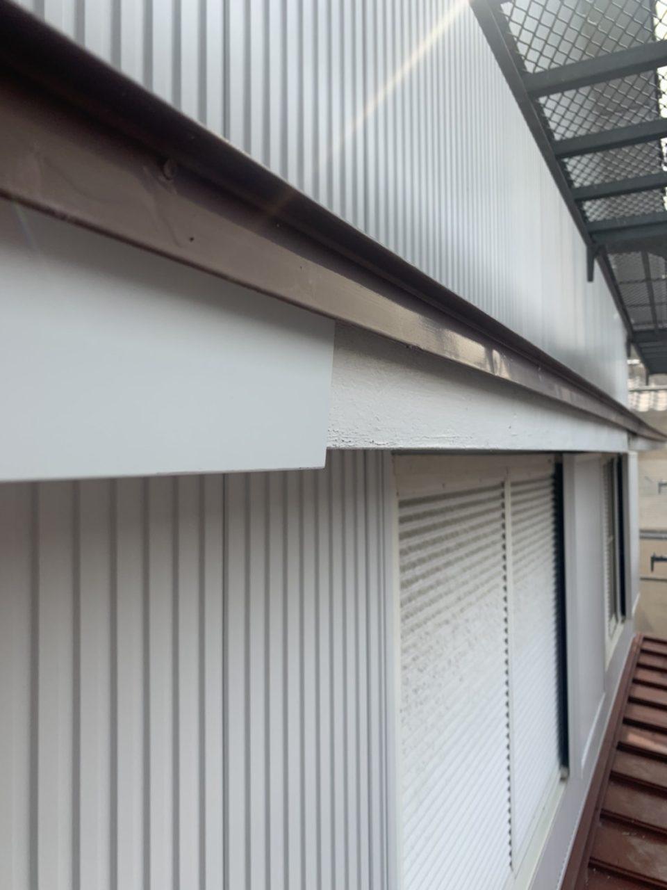 養生屋根塗装工事