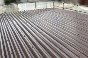 岡崎市折半屋根塗装工事3