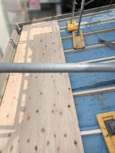 清洲市サイディング工事 瓦棒葺き替え下地工事2